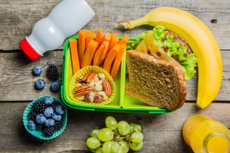 school lunch, parent meal prep