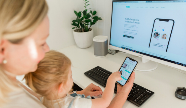 Kiddo booking a babysitter made easy